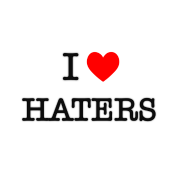 I Heart Haters - black