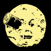 Le Voyage dans le Lune Hugo Man In Moon