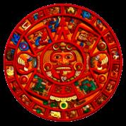 Mayan-Aztec Sun Calendar