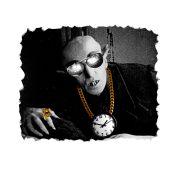 Pimp Dracula - Vlad II Keepin it Cool - White Text
