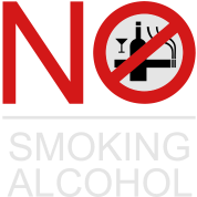 NO Smoking Alcohol Sign 2