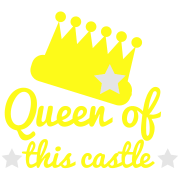 QUEEN of this castle with stars