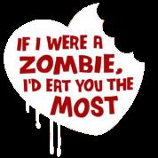 If i were a zombie...