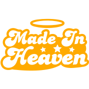 MADE IN HEAVEN design with halo cute!