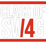 CLASS OF SWAG/14 (RED WITH BANDS)