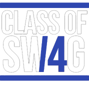 CLASS OF SWAG/14 (BLUE WITH BANDS)