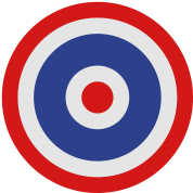 Thai Roundel Target Flag