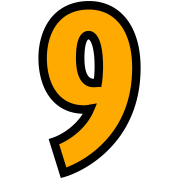 Condensed Number 9 (2c)++