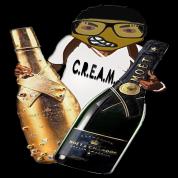 cream CHEERS CLUB