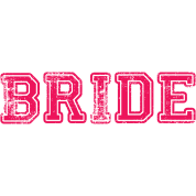Bride Text Word Graphic Design Picture Vector
