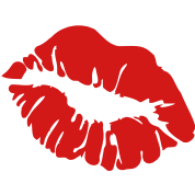 ۞»♥ټRed Hot Luscious Hot Kissy Lips-Vectorټ♥«۞
