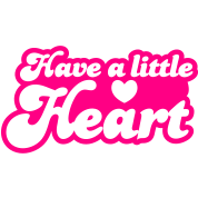 have a little heart love heart funky font