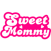 sweet mommy with little love hearts cute!