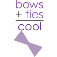 Design ~ bows + ties = cool