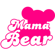 MAMA bear (new) with teddy bear shape