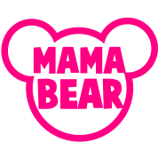 MAMA BEAR in a teddy shape super cute!