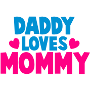 DADDY LOVES MOMMY parent shirt