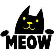 meow simple cat for kids