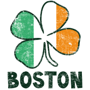 Boston w/Irish Flag