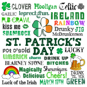 St Pattys Day Words
