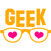 geek with glasses