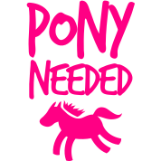 Pony Horse Needed with simple horse shape