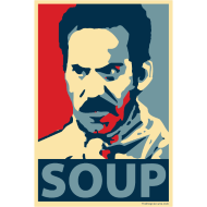 Design ~ Obama Poster Parody: Soup