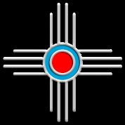 Zia Sun, Zia Pueblo, New  Mexico, Sun Symbol, DD 2