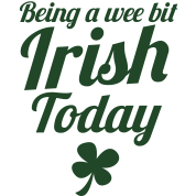 BEING a wee bit irish today with a shamrock english slang