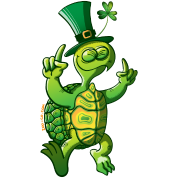 Saint Patrick's Day Turtle