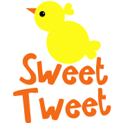EASTER SWEET TWEET little chick