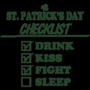 Goon - St. Patrick's Day Checklist (Clean)