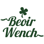 IRISH BEOIR (Irish for beer) wench