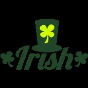 IRISH with a leprechaun hat cute!