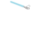Carry Lightsaber Blue