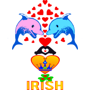 ★㋡♥ټI Love-Irish-Adorable Dolphin Couplesټ♥㋡