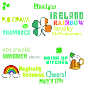 St Pattys Phrases