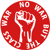 1 color - no war but the class war Working Class A