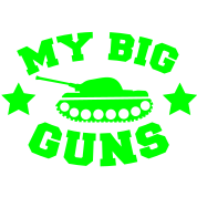 MY BIG GUNS Tank shirt