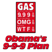 Anti Obama: Obama's 999 Plan Gas Prices