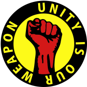 3 colors - unity is our weapon Working Class Again