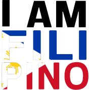 I AM FILIPINO (Black)