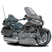 Goldwing Grey Bike