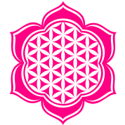 Flower of life, Lotus-Flower, vector 4, c, energy symbol, healing symbol