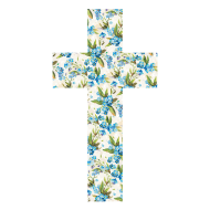 Design ~ FLORAL CROSS