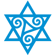 TRISKELE: Yin power symbol, vector, Merkaba, Energy Symbol, Protection Force