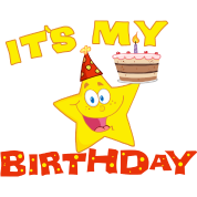 It's My Birthday Star