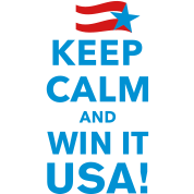 Keep Calm and WIN IT USA!