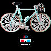 Bianchi bike 3D vintage