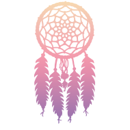 Design ~ DIP DYE DREAMCATCHER